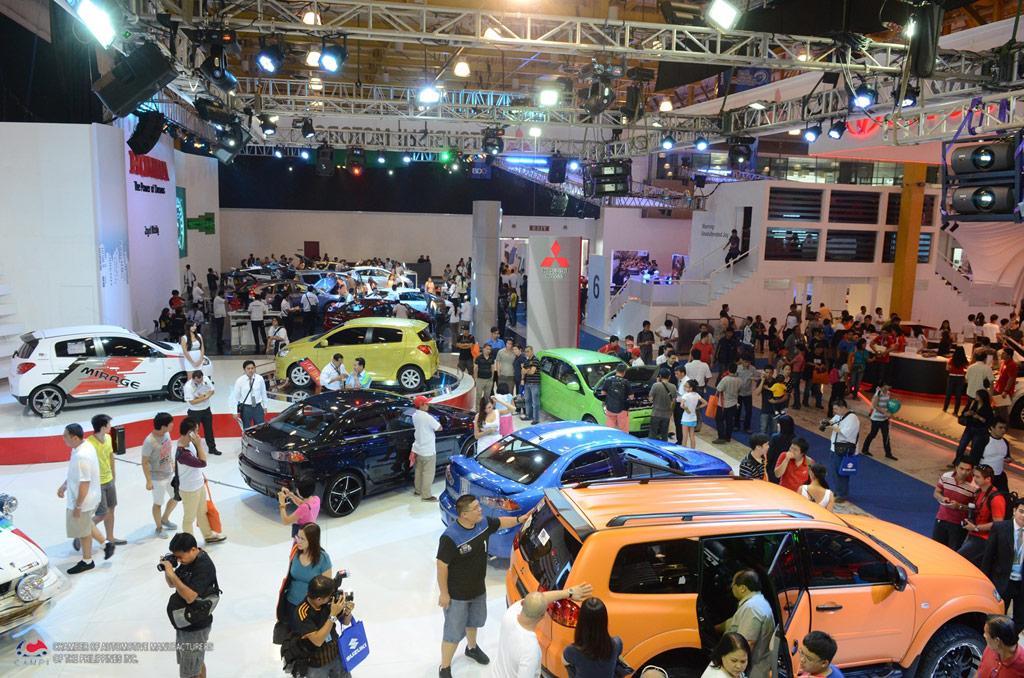 The Th Philippine International Motor Show CAMPI - International auto show schedule