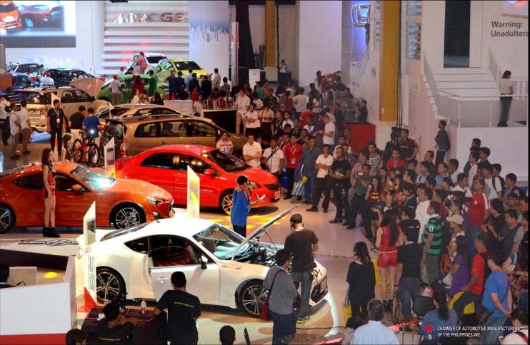 The Th Philippine International Motor Show CAMPI - Honda center car show